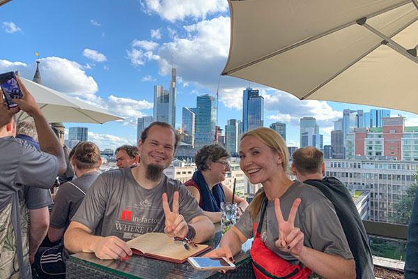 infactory: J. P. Morgan Lauf Frankfurt 2019
